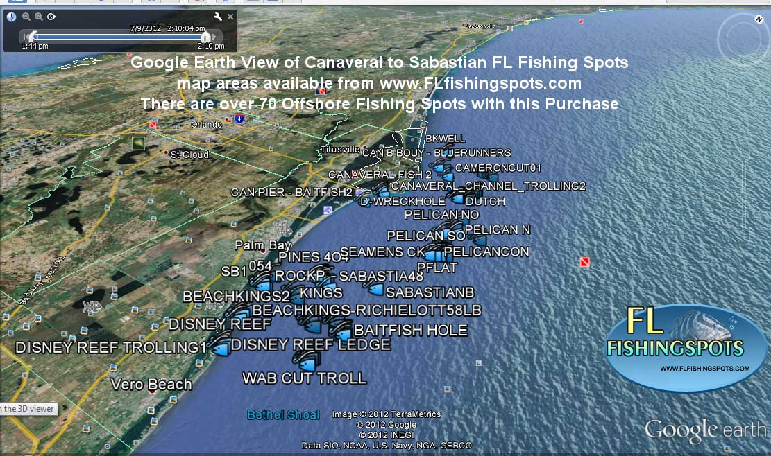 Port canaveral offshore fishing spots florida fishing for Cape canaveral fishing report