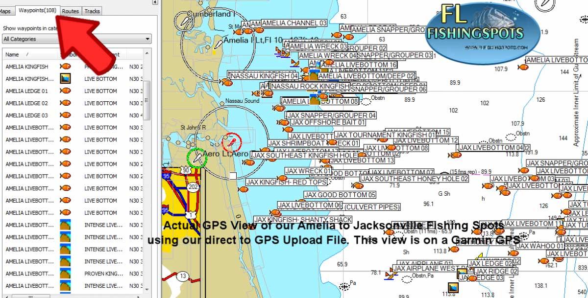 Jacksonville Florida Fishing Spots