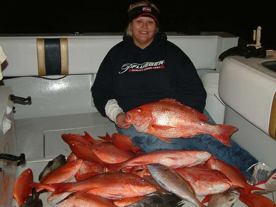 Pensacola Florida Fishing spots - Red Snapper Fishing