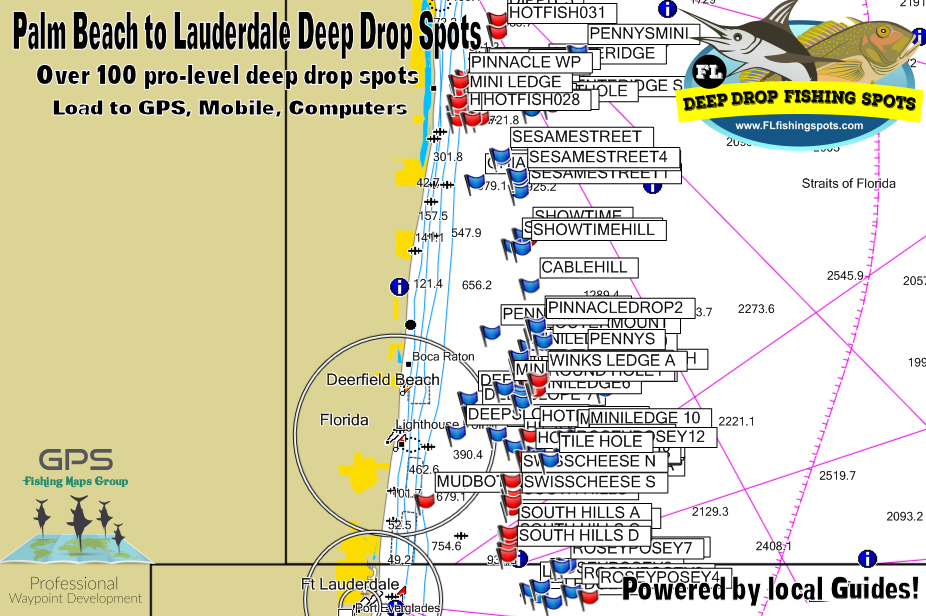 Fort Lauderdale Florida Deep Drop Fishing Spots