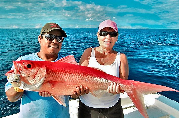 Queen Snapper Deep Drop Fishing Spots