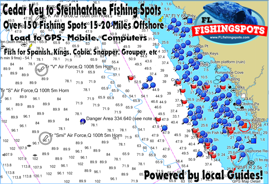 Cedar Key Florida Map.Cedar Key Florida Fishing Spots Cedar Key Horseshoe Steinhatchee